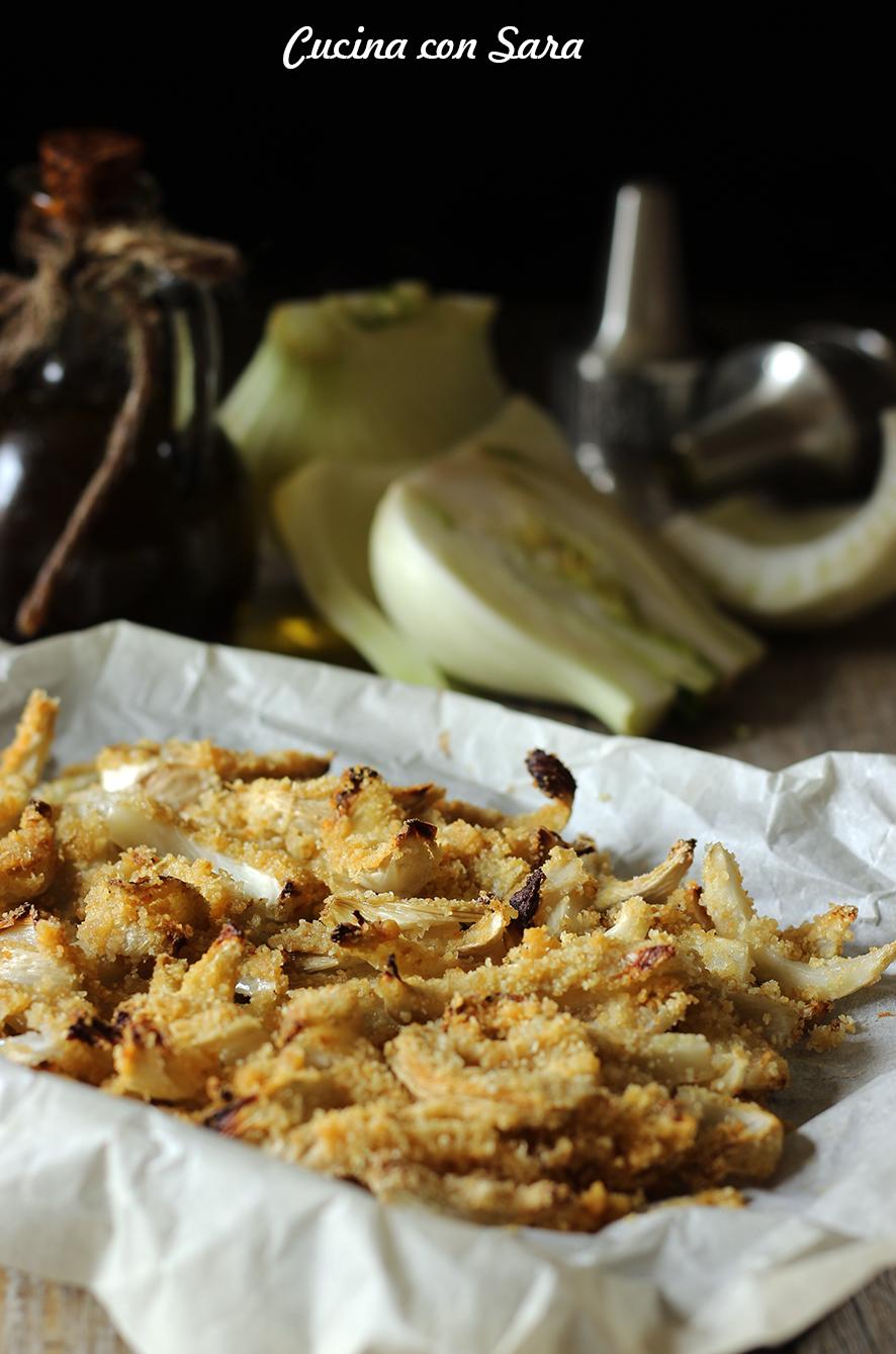 Finocchi gratinati, cucina con sara
