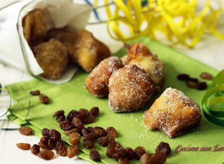 Castagnole mele e uvetta - ricetta di Sonia Peronaci