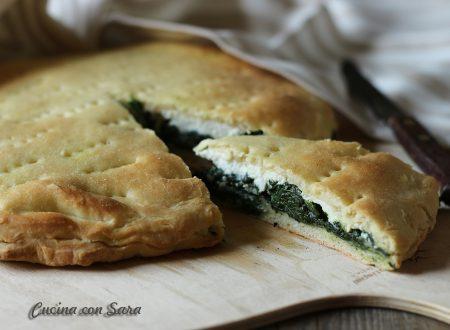 Ricetta schiacciata siciliana con ricotta e spinaci