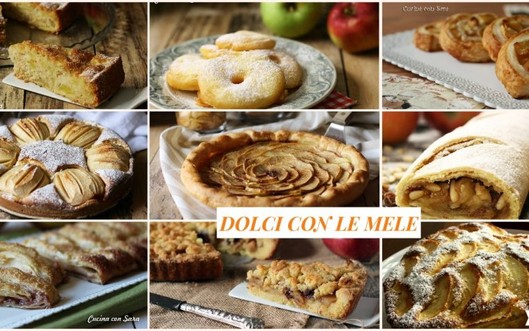 Dolci con le mele – ricette facili e veloci