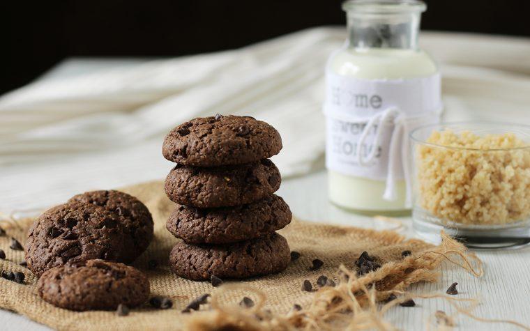 Cookies light al cioccolato