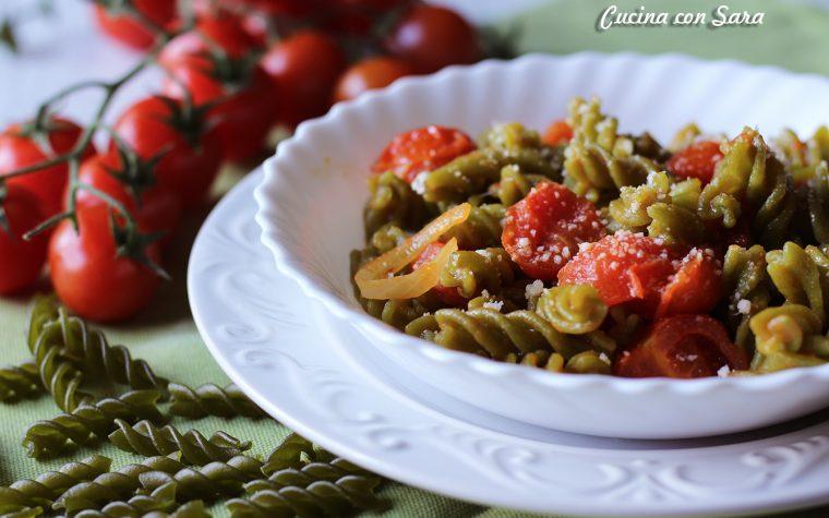 Pasta di legumi con verdure