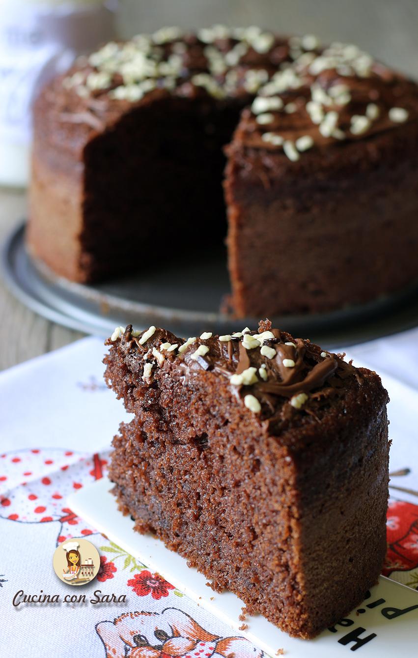 Ricetta torta cioccolato, cucina con sara