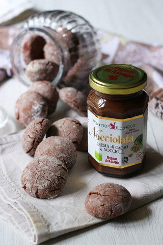 Ricetta biscotti morbidi alla nocciolata Rigoni, cucina con sara