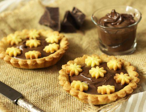 Crostatine alla nutella o nocciolata