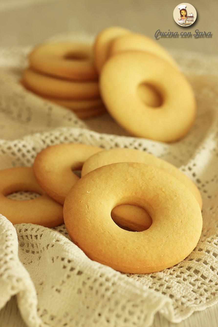 Biscotti alla panna, cucina con sara