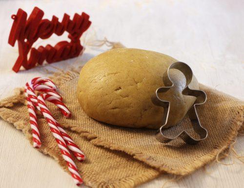 Pasta frolla per gingerbread, la ricetta originale