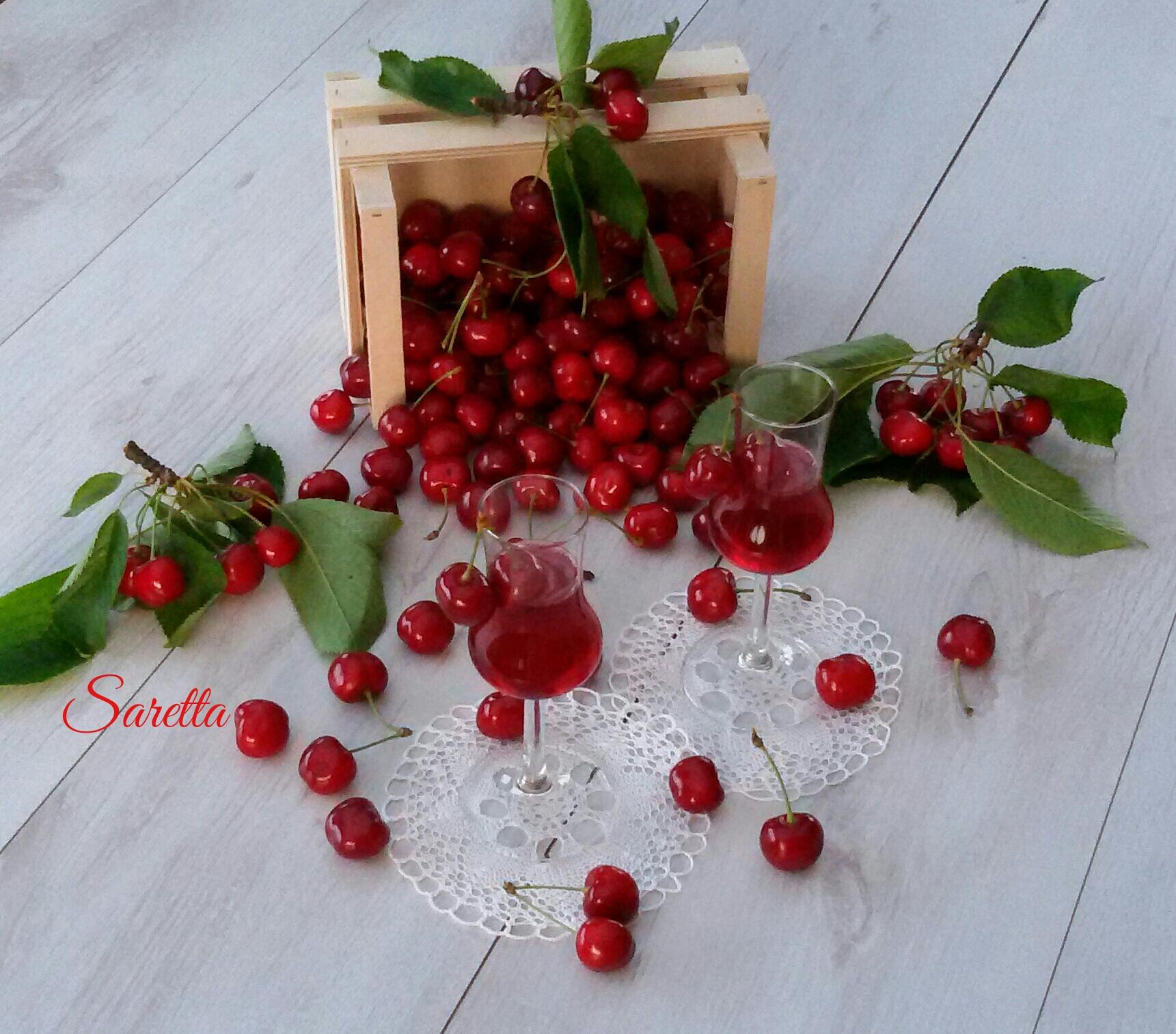 sciroppo di ciliegie