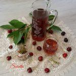 Tisana depurativa con piccioli e noccioli di ciliegie