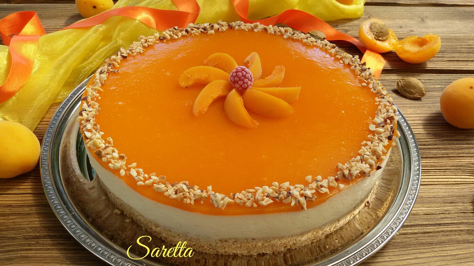 cheesecake all'albicocca