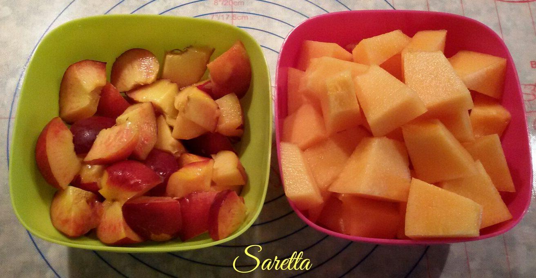 smoothie allo yogurt e melone