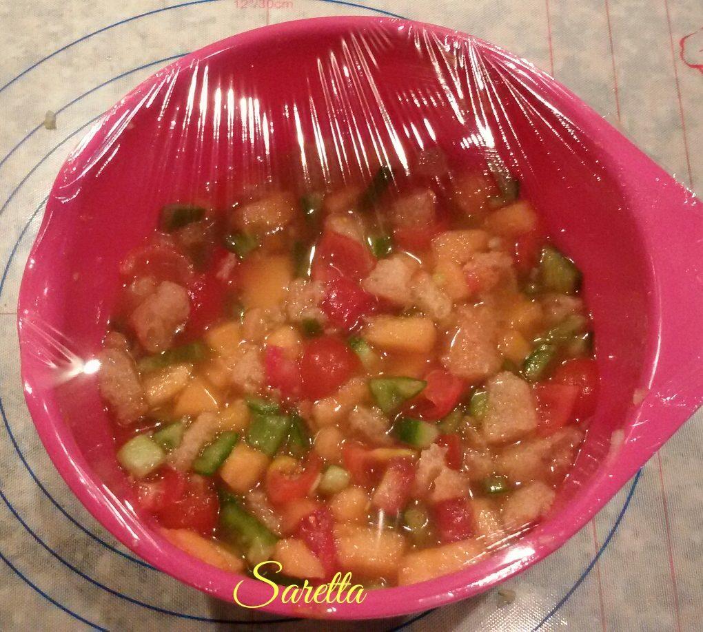 gazpacho al melone