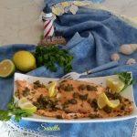 Filetto di trota salmonata ai capperi