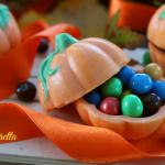 zucche di cioccolato con sorpresa