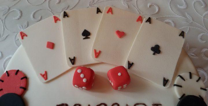 torta carte da gioco