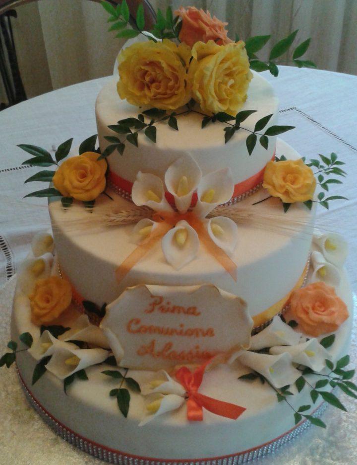 torta comunione Alessia