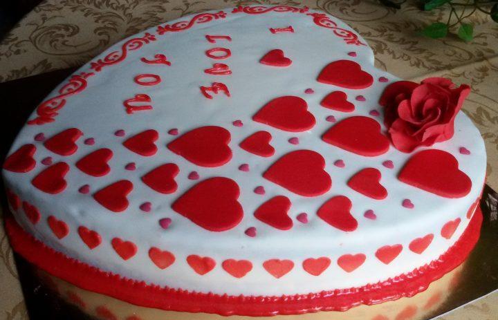 torta cuore