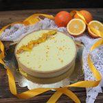 Cream tart all'arancia e frutto della passione