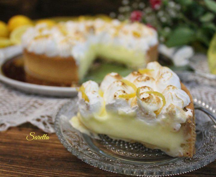 torta meringue pie