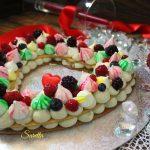 Cream tart cuore con namelaka al pistacchio