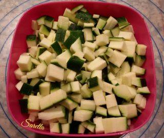 mini strudel di zucchine