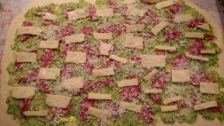 girelle farcite con zucchine formaggi e salame