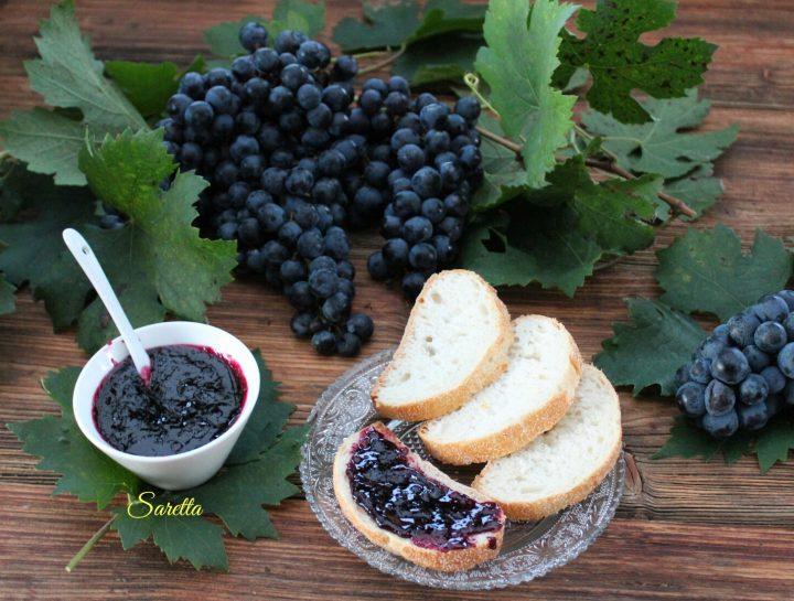 confettura d'uva nera