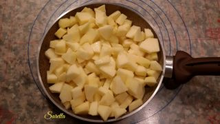 crostata con fragole menta e pepe