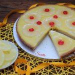 Torta con ananas