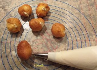 frittelle ripiene senza burro