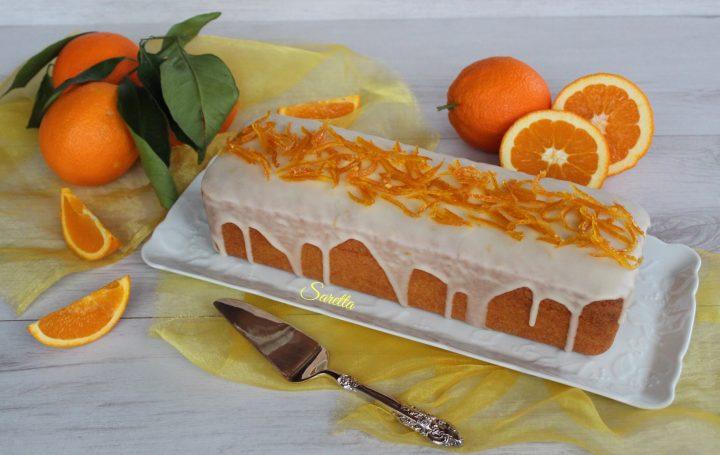 plumecake all'arancia