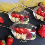Ballon di crema e frutta