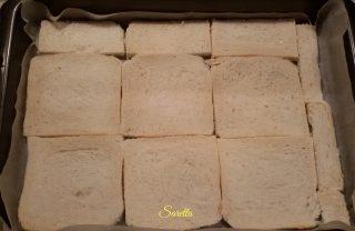 frittata di verdure con pane