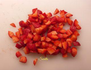 risotto alle fragole e prosecco