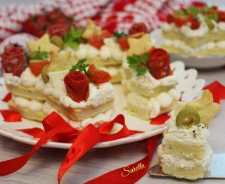 cream tart salata