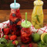 Acque aromatizzate alla frutta e agrumi
