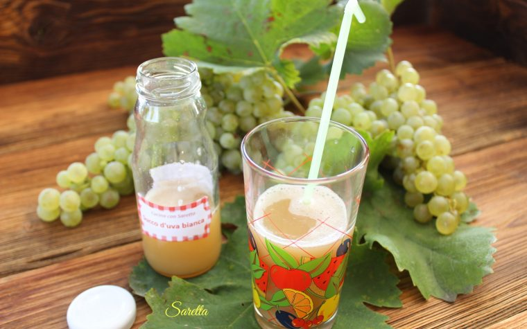 Succo di uva bianca o nera