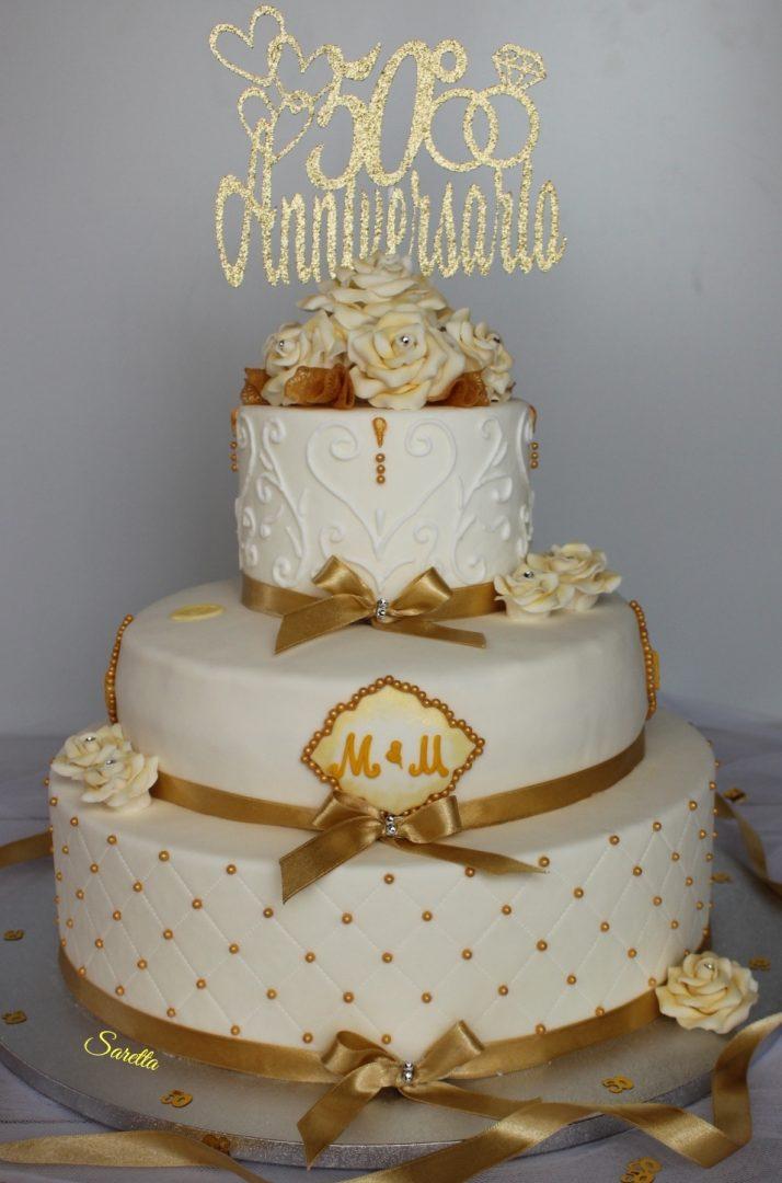 torta anniversario wedding cake