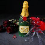 Tutorial bottiglia di champagne con pasta di zucchero