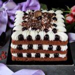 Foresta nera rivisitata in cream tart