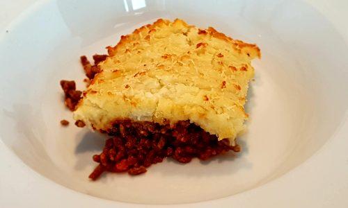 Cottage Pie (pasticcio di carne)