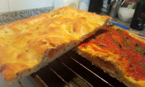 Impasto pizza ad alta digeribilità