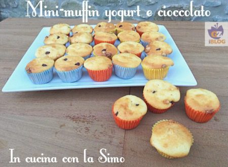 MINI-MUFFIN YOGURT E CIOCCOLATO
