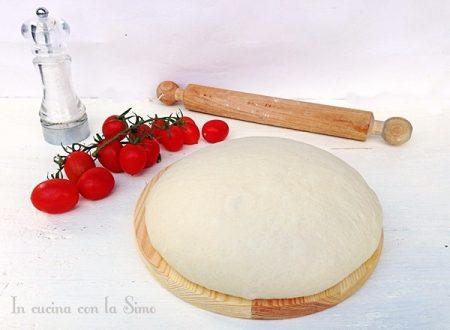 IMPASTO BASE PIZZA DI BONCI