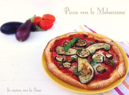 PIZZA CON LE MELANZANE
