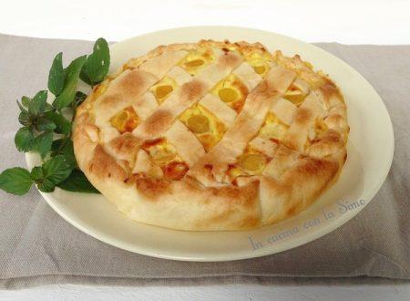 TORTA SALATA DI LUPINI E RICOTTA