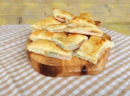 Sfogliatine al prosciutto e Gorgonzola