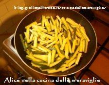 Zucchine stick, ricetta vegana
