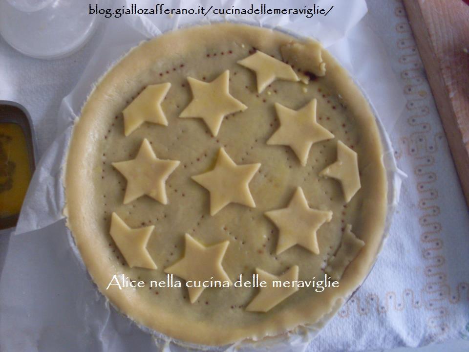 Pie di pere, amaretti e cacao Ricetta dolce Alice nella cucina delle meraviglie