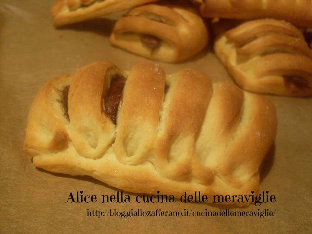 Nutella in gabbia ricetta dolce Alice nella cucina delle meraviglie